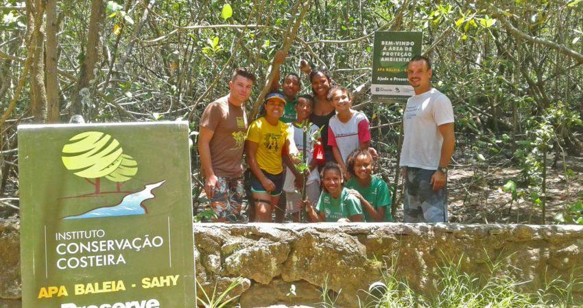 ICC leva educação ambiental ao Desafio no Sertão na APA Baleia Sahy